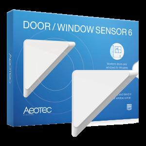 Smart Home Automation - Aeotec Z-Wave Door Window Sensor 6