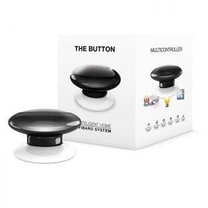 Black Fibaro Z-Wave Button