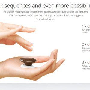 Smart Home Automation - Fibaro Z-Wave Button