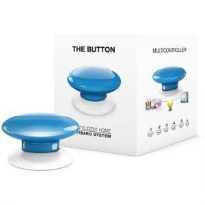Blue Fibaro Z-wave Button