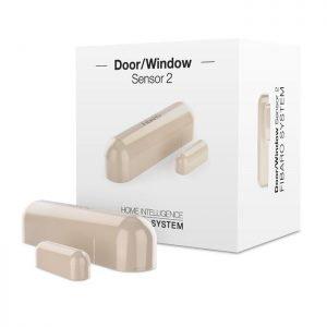 Beige Fibaro Door Window Sensor 2