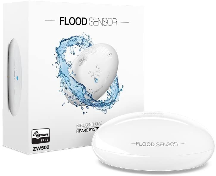 Smart Home Automation - Fibaro Z-Wave Flood Water Leak Sensor
