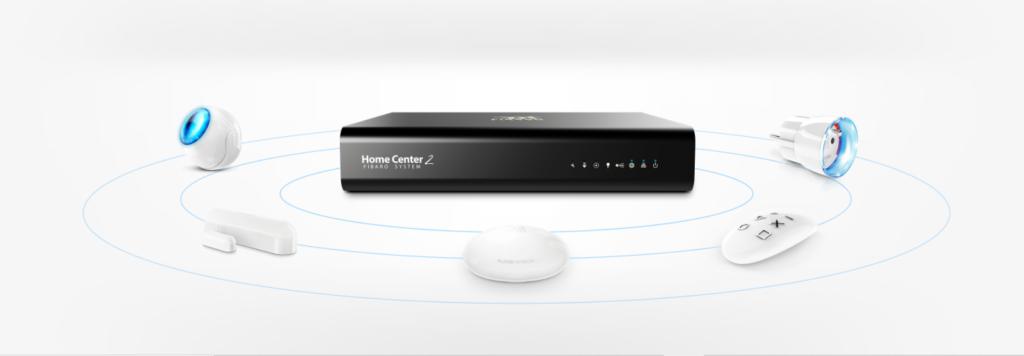 Smart Home Automation - Black FIBARO Home Center 2 System