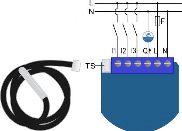 Qubino Z-Wave Thermostat 2 Switch