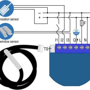 Smart Home Automation - Qubino Z-Wave Thermostat 2 Switch