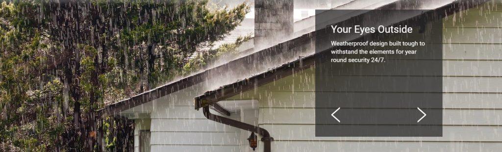 Smart Home Automation - WiFi Spotlight Outdoor Camera