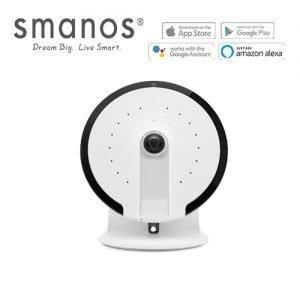 Smanos UFO Panoramic WiFi Camera