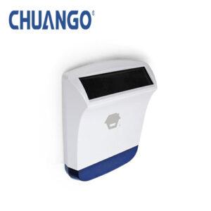 Chuango Wireless Outdoor Solar Power Strobe Siren