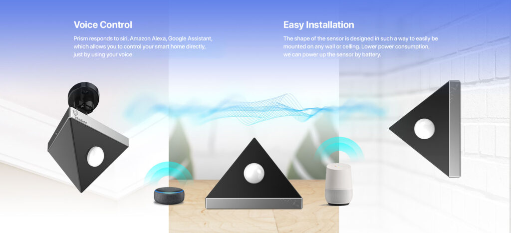 Voice Control and Easy Installation