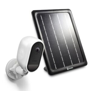 Swann Wireless 2MP Security Camera with Solar Charging Panel