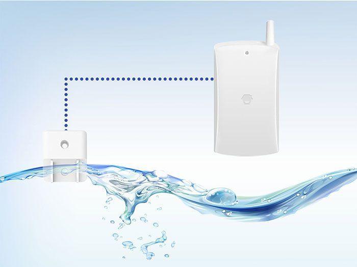 Smart Home Automation - Chuango WiFi Water Flood Detector