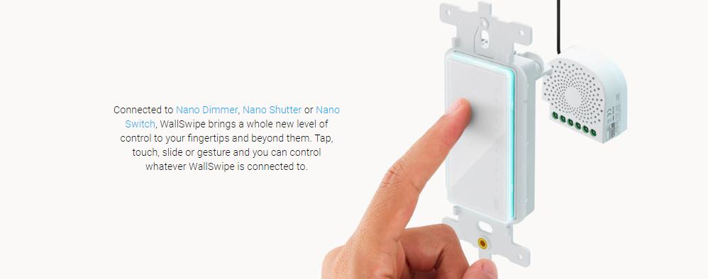 Smart Home Automation - AEOTEC Nano WallSwipe