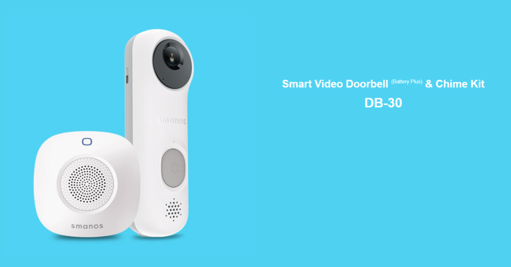 Smart Home Automation - Smanos Smart Video Chime Doorbell