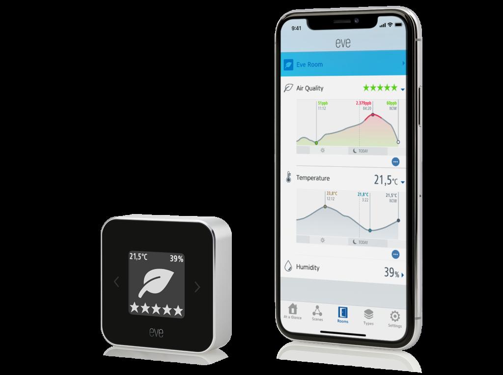 Smart Home Automation - Eve Room Air Quality Sensor