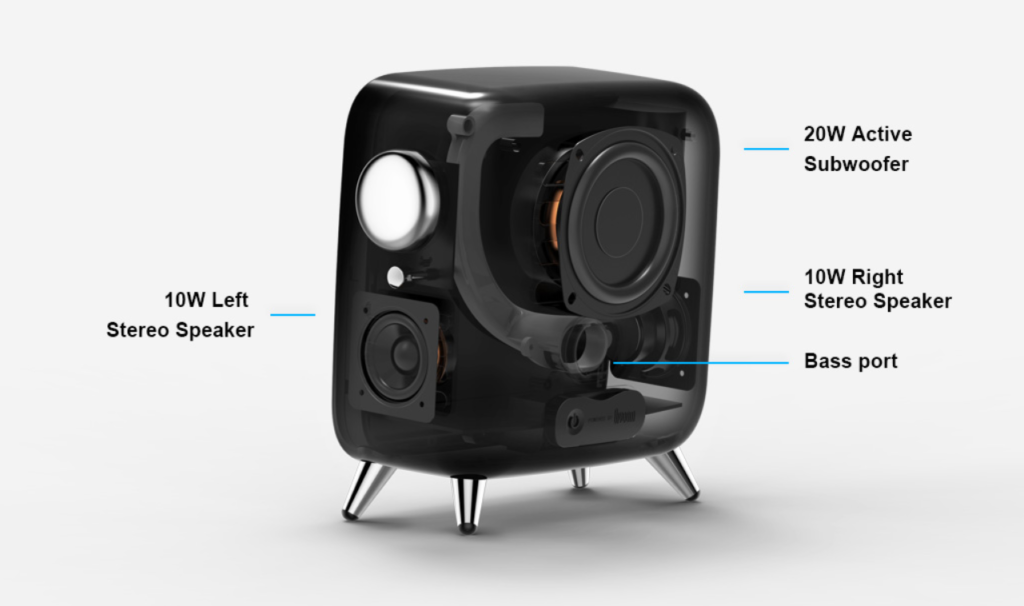 Smart Home Automation - Divoom Tivoo Stereo 40W Max Speaker