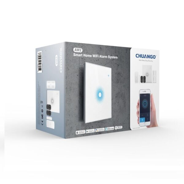 Smart Home Automation - Chuango AW2 Wifi Starter Alarm Kit