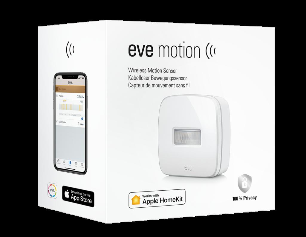 Smart Home Automation - Eve Smart Motion Sensor