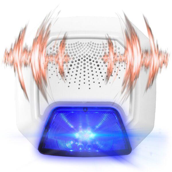 Smart Home Automation - VISION Z-Wave Outdoor Strobe Siren