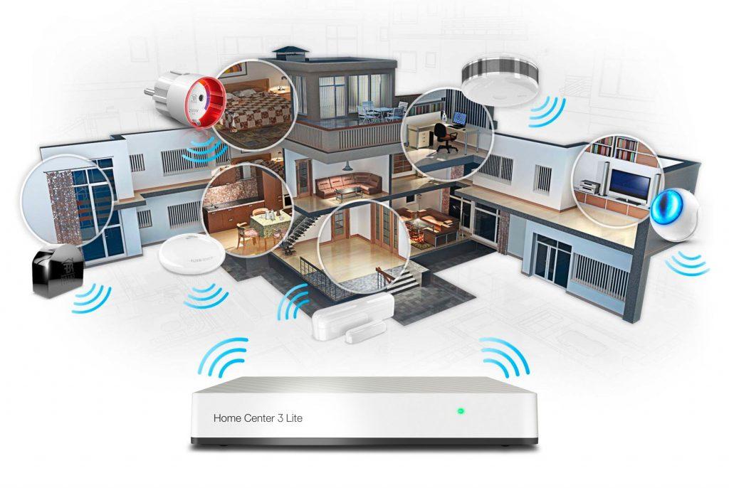 Smart Home Automation - Fibaro Z-Wave Home Center 3 Lite