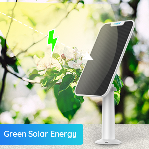 Smart Home Automation - Reolink Solar Panel