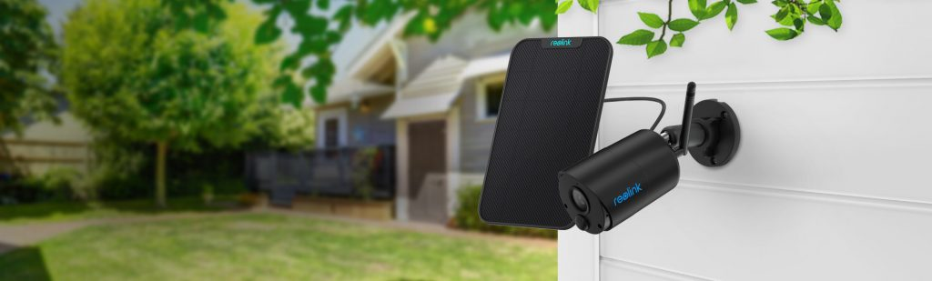 Smart Home Automation - Reolink 1080P Outdoor Wireless Security Solar Battery Camera