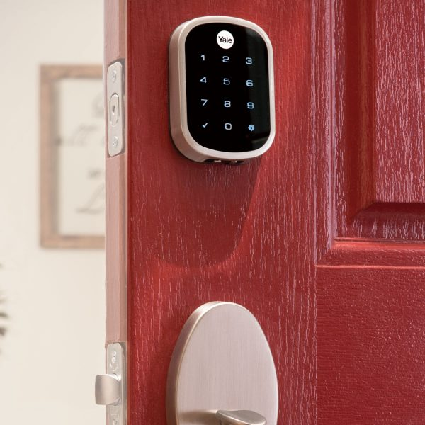 Smart Home Automation - Yale Assure Z-Wave Keyless Deadbolt Doorlock