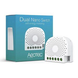 Aeotec Z-Wave Nano Double Switch