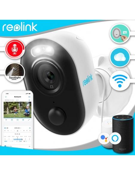 Smart Home Automation - Reolink Lumus 1080P Outdoor WIFI Spotlight Security Camera