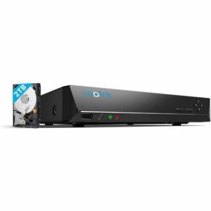 Reolink 4K PoE 8CH NVR 2TB HDD Security Recorder