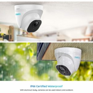 Smart Home Automation - Reolink 4x PoE Cameras 8MP 4K 8CH 2TB NVR System