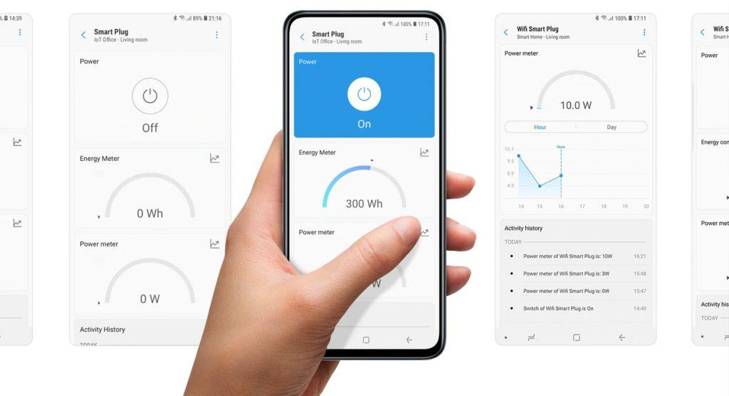 Smart Home Automation - Aeotec SmartThings Smart Plug